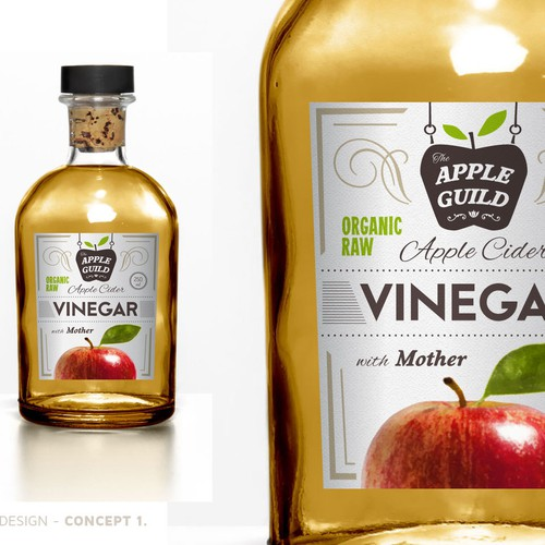 The Apple Guild - LABEL DESIGN