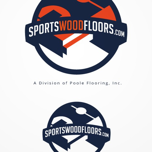 Create Branding for Sports Flooring Contractor @ sportswoodfloors.com