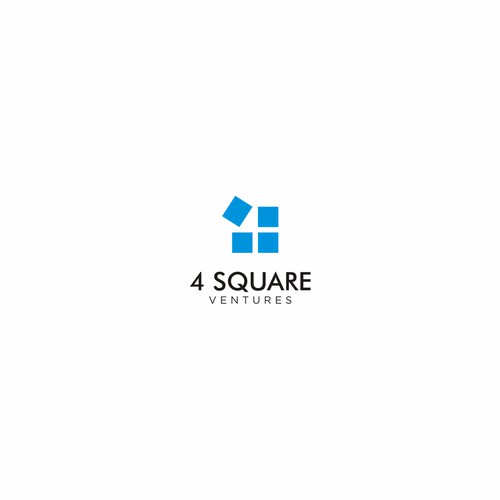 Great logo for 4 Square Ventures