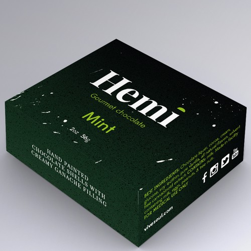 Packaging for Hemi - Gourmet chocolate