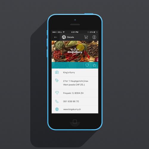 Create a new, fresh, stylish design for our Voucher-App! (DE/EN)