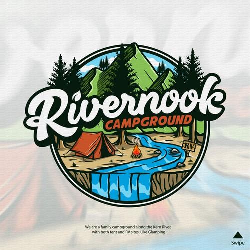 Logo Rivernook Campground