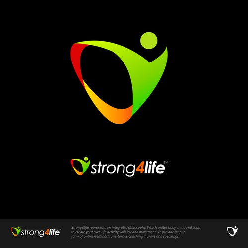 """Strong emblem for the """"Strong For Life"""""""