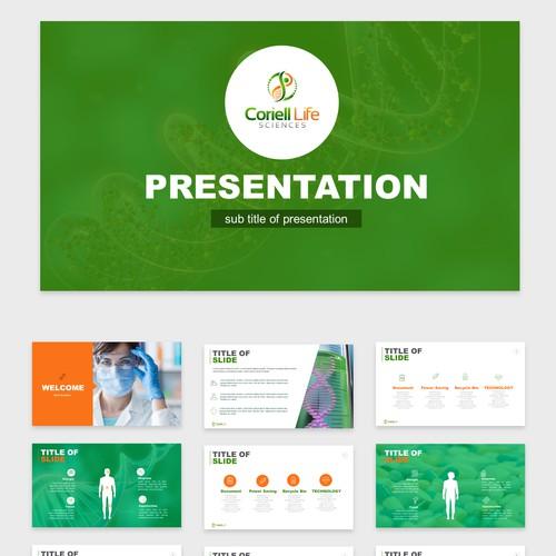 Presentation story of genetics and medicine!