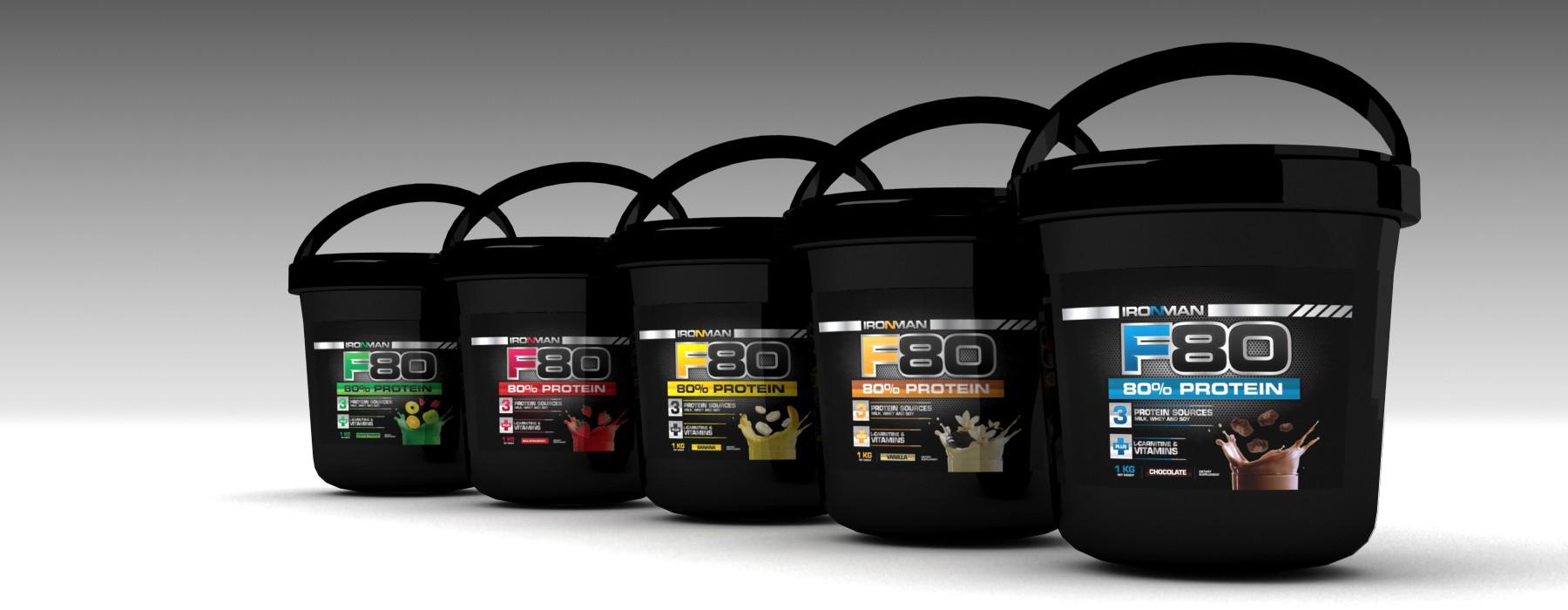 **guaranteed** label design for bodybuilding supplement