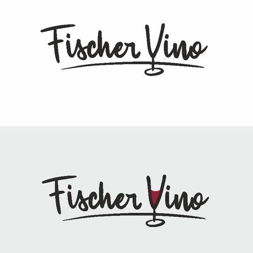 Handwritten logo for winery