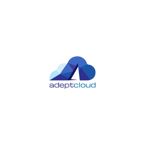 Logo design for a cloud services provider