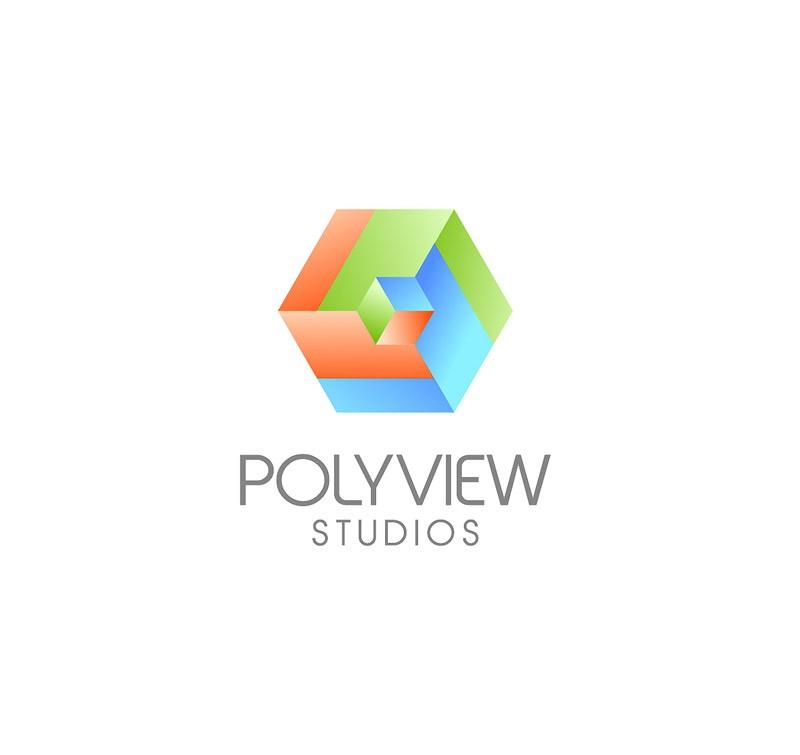 Create the next logo for Polyview Studios