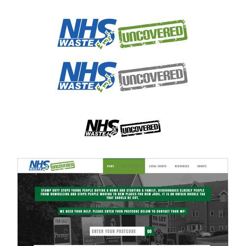NHS Waste - logo header