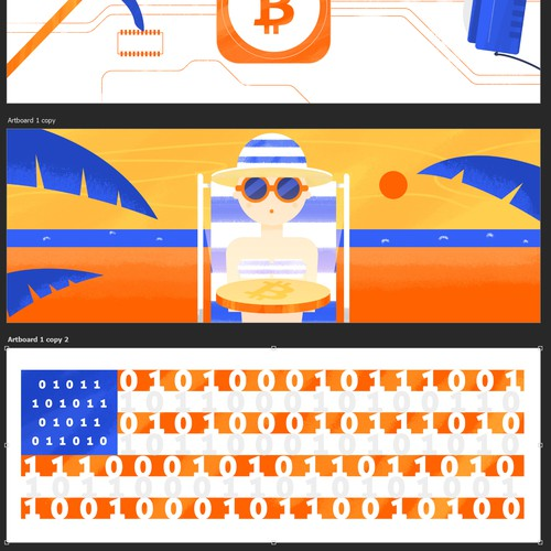 Cryptocurrency banners