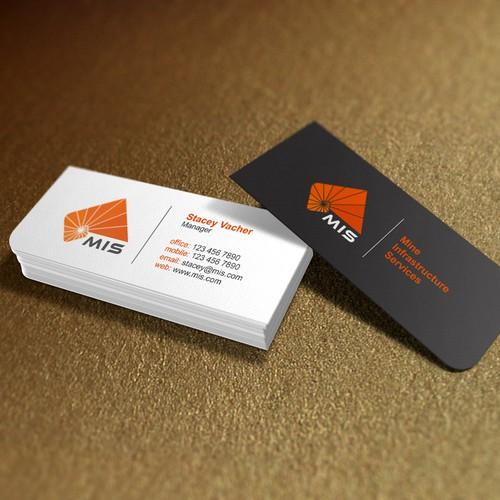 Clean simple professional design for MIS