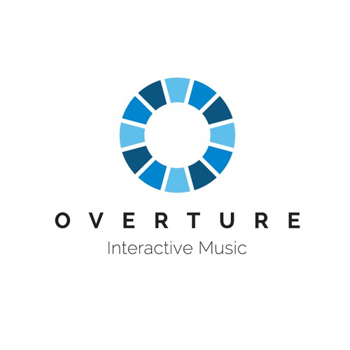 Interactive software logo for musicians of all level skills to practice, warm up, play along and so