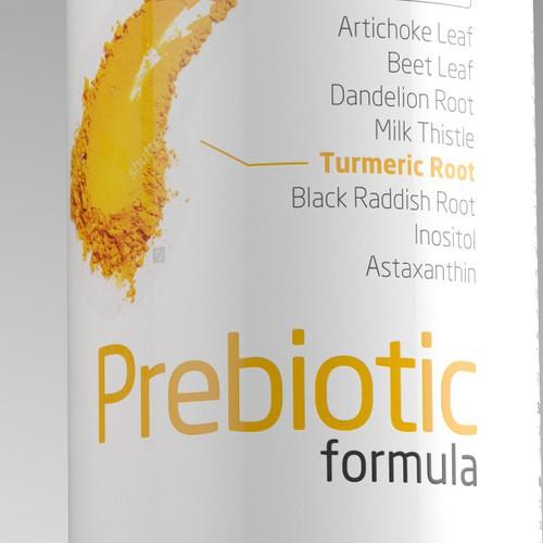 Prebiotic Formula Label