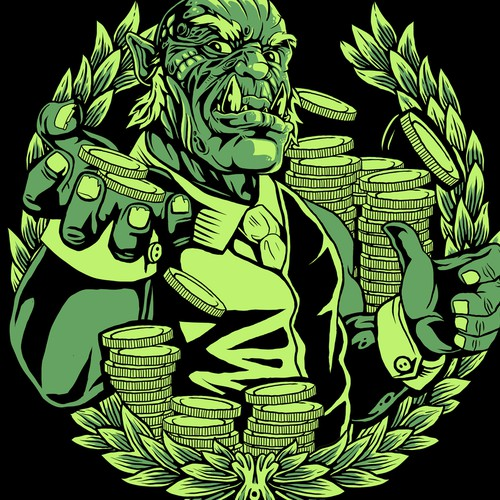 T shirt design for orconomic