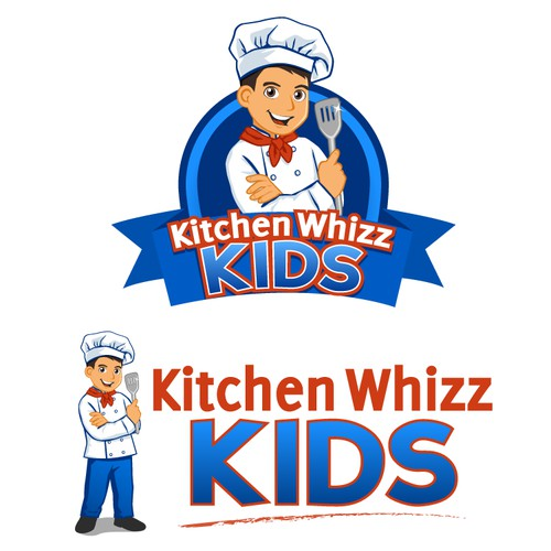 Create the next logo for Kitchen Whizz Kids