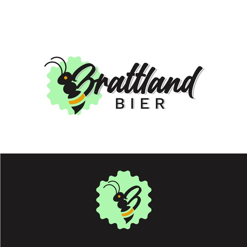 Design appealing beekeeping logo with organic vibe