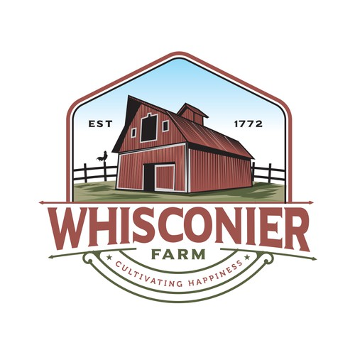Logo concept for a Farm