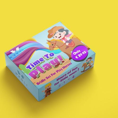 Box Design For Children's Toy