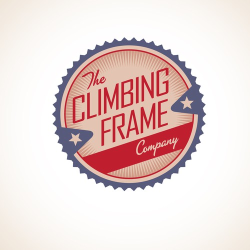 Retro logo required for Website selling Climbing Frames