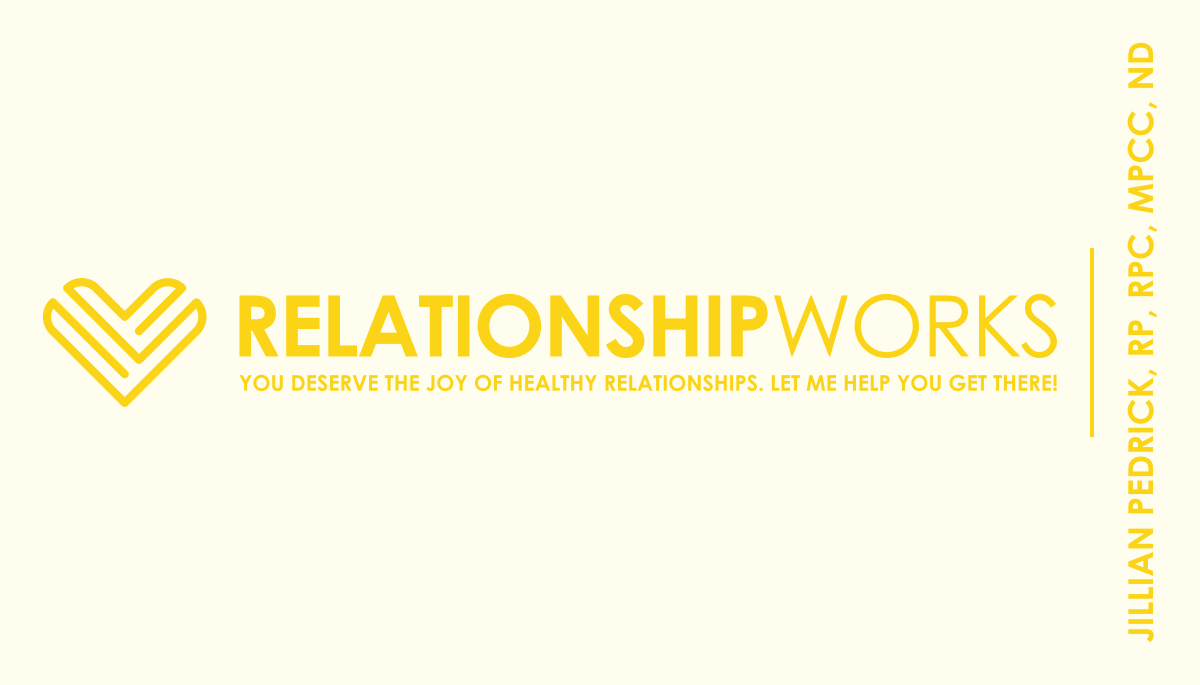 Business card for Relationship Works.