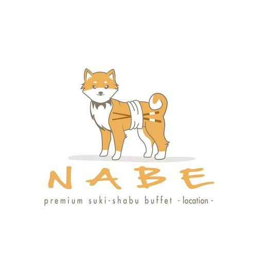 Nabe Logo. -Based on shiba inu !!-