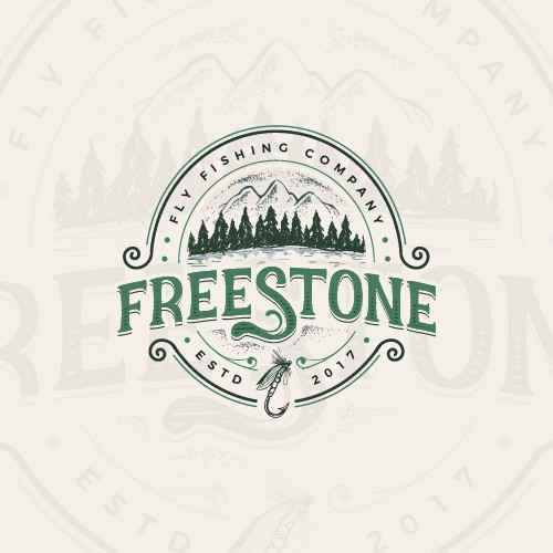 Vintage outdoor logo