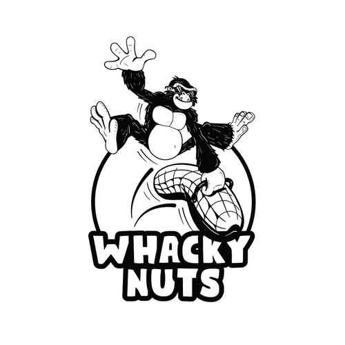 Logo for a peanut snack