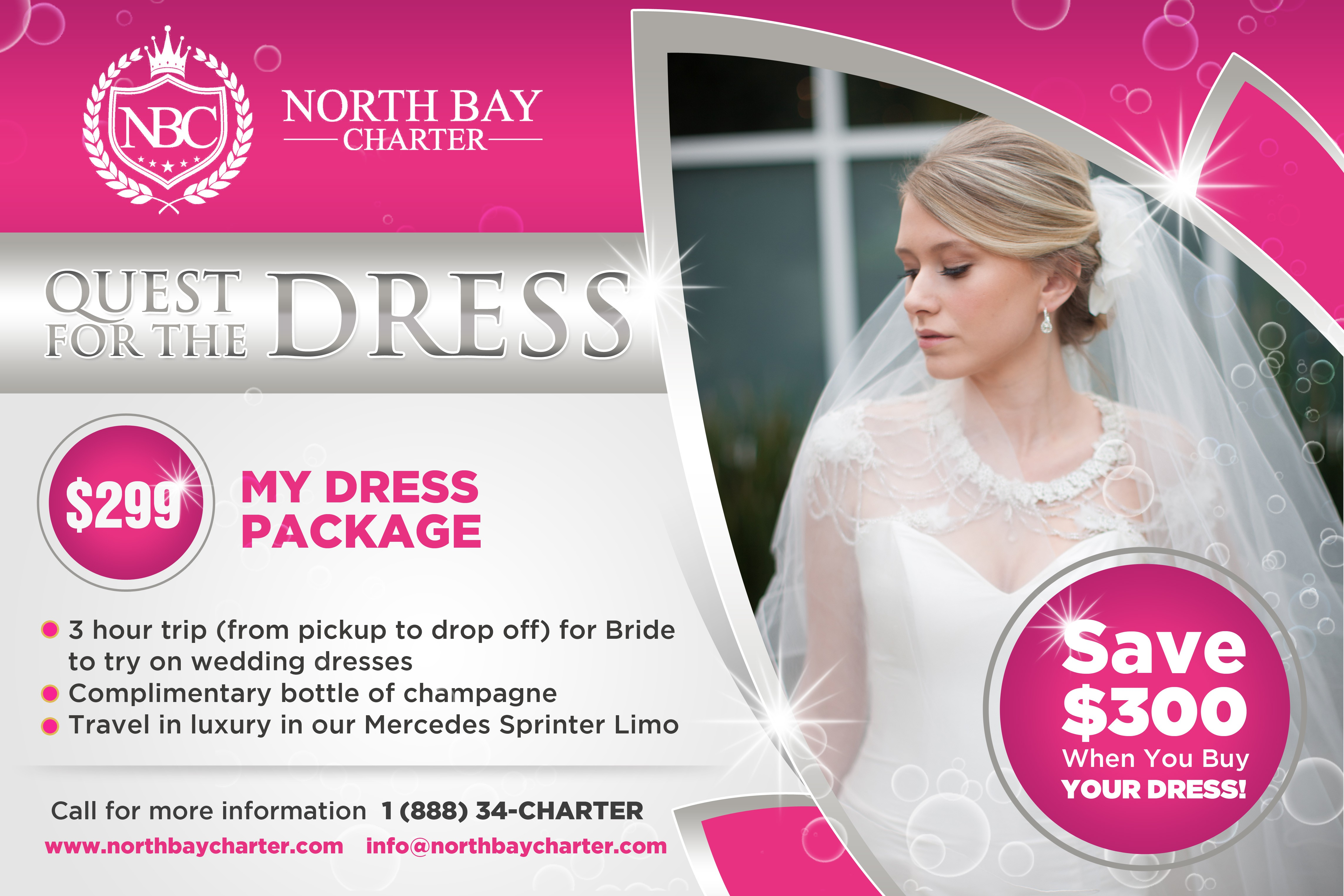 Limo Package Just For Brides