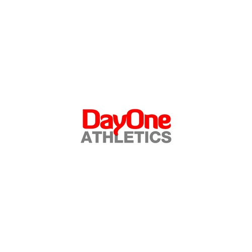 Bold Logo For DayOne Athletics