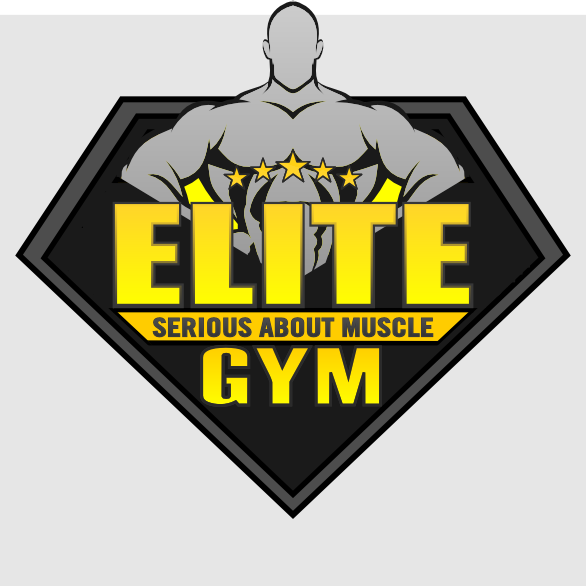 Create a dynamic and exciting logo for Elite Gym