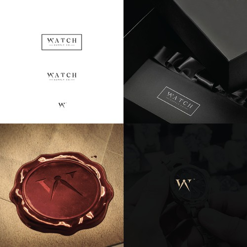 Luxurious logo for Watch Supply Co.