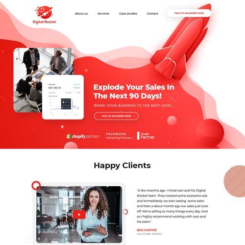 Website Design - Digital Marketing - Digital Rocket