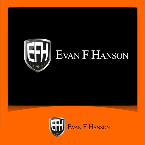 EVAN F HANSON LOGO