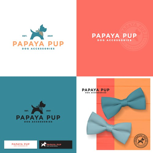 Dog accessories logo design