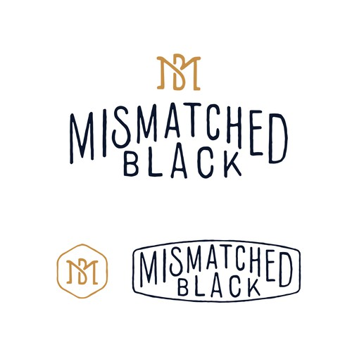 MISMATCHED BLACK LOGO CONCEPT