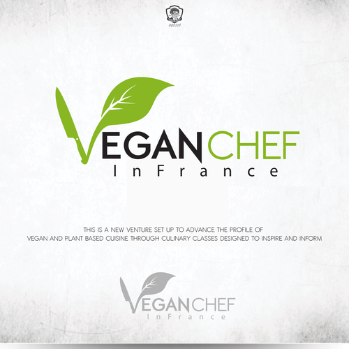"Bold Logo For ""new vegan culinary (ad)venture"""