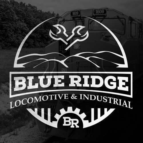 Classic logo for Locomotive Maintenance Co