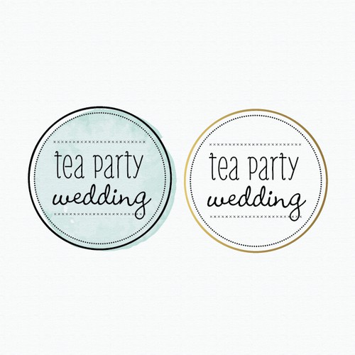 New logo wanted for Tea Party Wedding