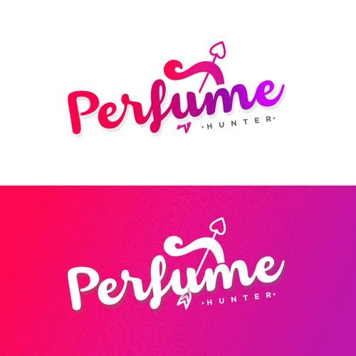 Colorful Logo Concept -  Online Perfume Sale
