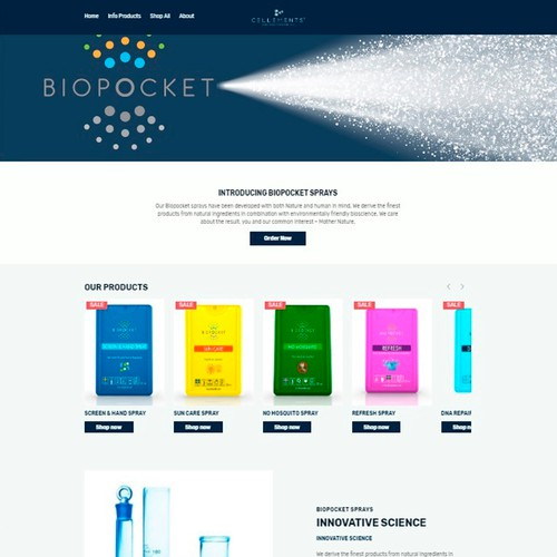 BioPocket sample web