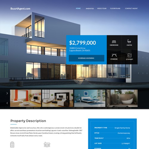 Single property design