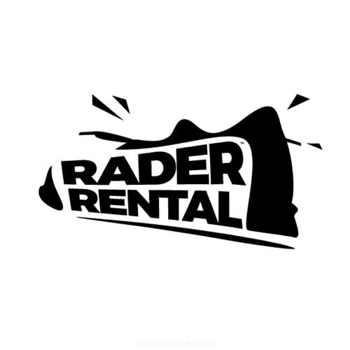 Rader Rental. Logo Concept
