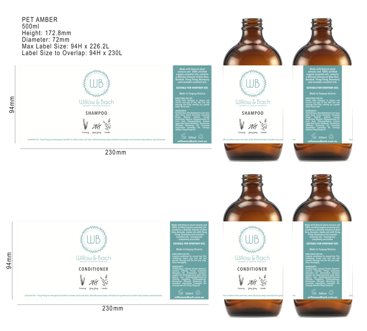 Design a new label for a new product