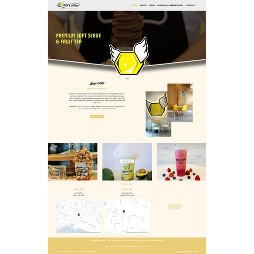 Squarespace Website Design for Cafe