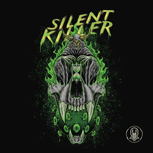 Silent Killer (Illutrations design for T-Shirts)