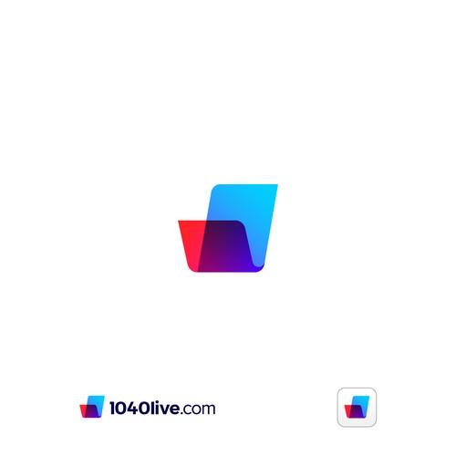 1040live.com Logo Design