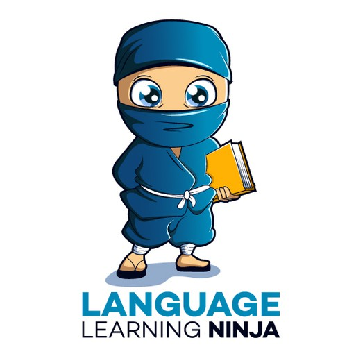 ninja character logo