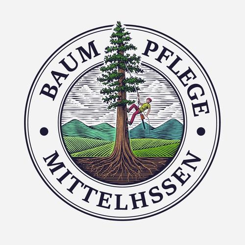 Logo for Baumpflege Mittelhssen.