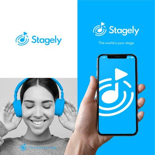 Logo entry for a music app.