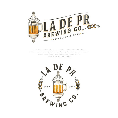 Logo for La De PR Brewing